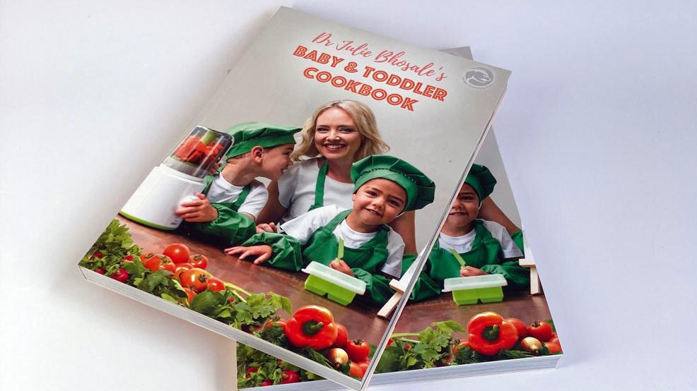 การพิมพ์หนังสือทำอาหารอ่อนที่สมบูรณ์แบบ
