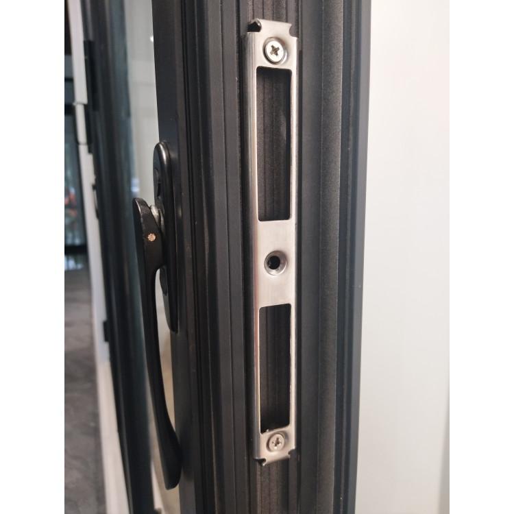 china certified supplier top quality exterior accordion door insulated alloy aluminium bi-fold bi folding glass door for house