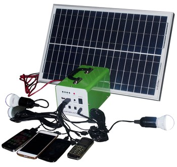 Green Energy Powerful Easy Install Home Use Solar Panel System 30W Kit Solar switch 8 solar recharging kit 5v 9v 12v
