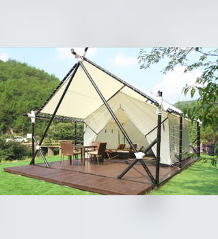 luxury canvas wall tent