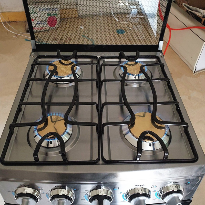 Gensun Kitchen OEM Customized Gas Range Stainless Steel Oven Free Installation Stove Home Baking Cooking Appliances