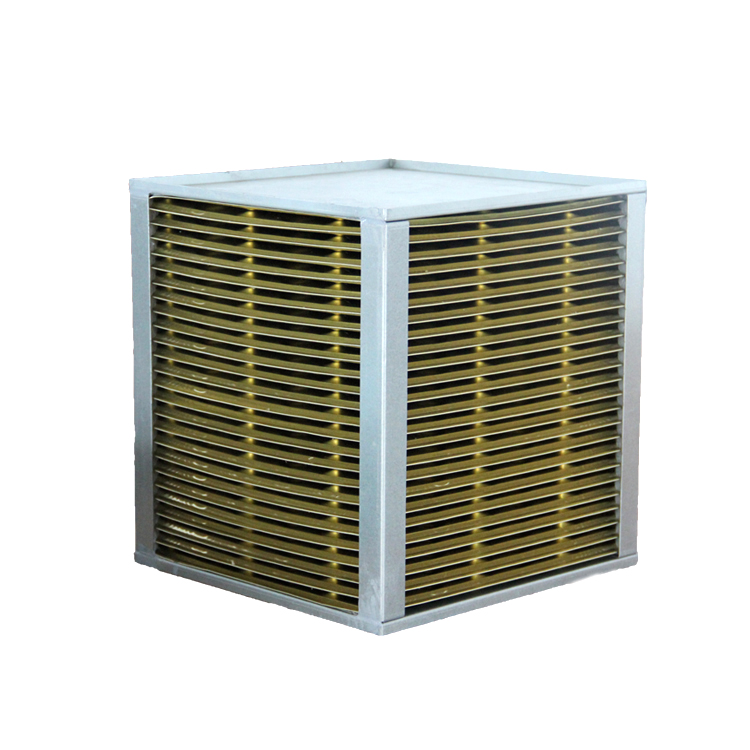 Алюминиевый теплообменник поперечного потока воздуха в воздух
