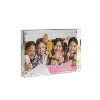 APEX Acrylic 3x5 Magnetic Personalized Sublimation Glass Collage Crystal Portrait Kids Photo Frame Family