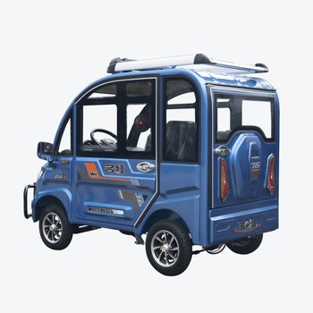 Cheap adult small auto cars electric vehicles Lithium battery powered 1000/1200W Minghong brand new electric energy vehicle
