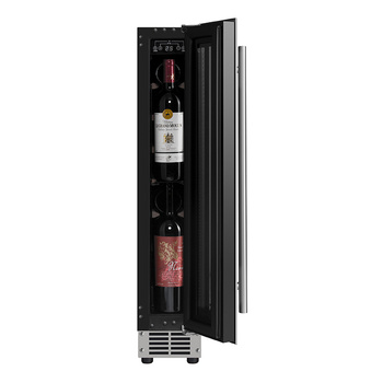 JC-22A Electric Wine Cooler Double Door Bar Cabinet Peltier Personalized Cave A Vin Bodega