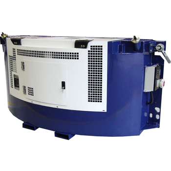 Clip on 15KW diesel power genset for reefer container