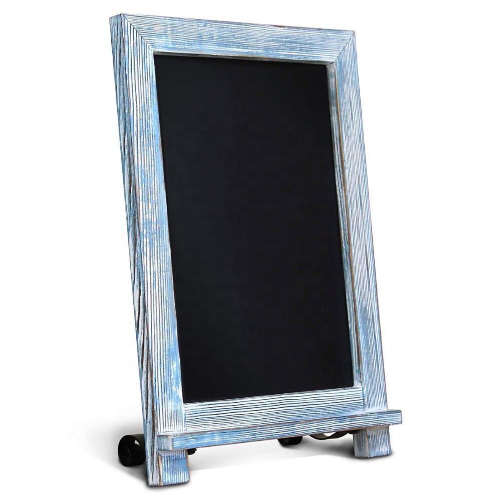 Rustic vintage Memo Board Desk magnetic chalkboard sign - Yola WhiteBoard | szyola.net