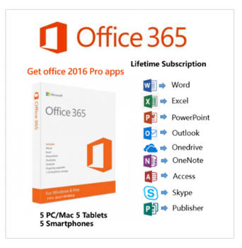 Good sell account used globally microsoft office computer advanced security per person office 365 pro plus for 5 users