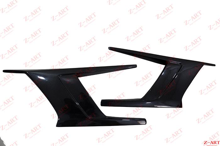 Z-ART 2014-2019 carbon fiber side blade spoiler skirts for I8