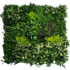 wholesale indoor Garden Decoration green artificial wall plant panel / fire retardant anti-UV outdoor artificial plant wall