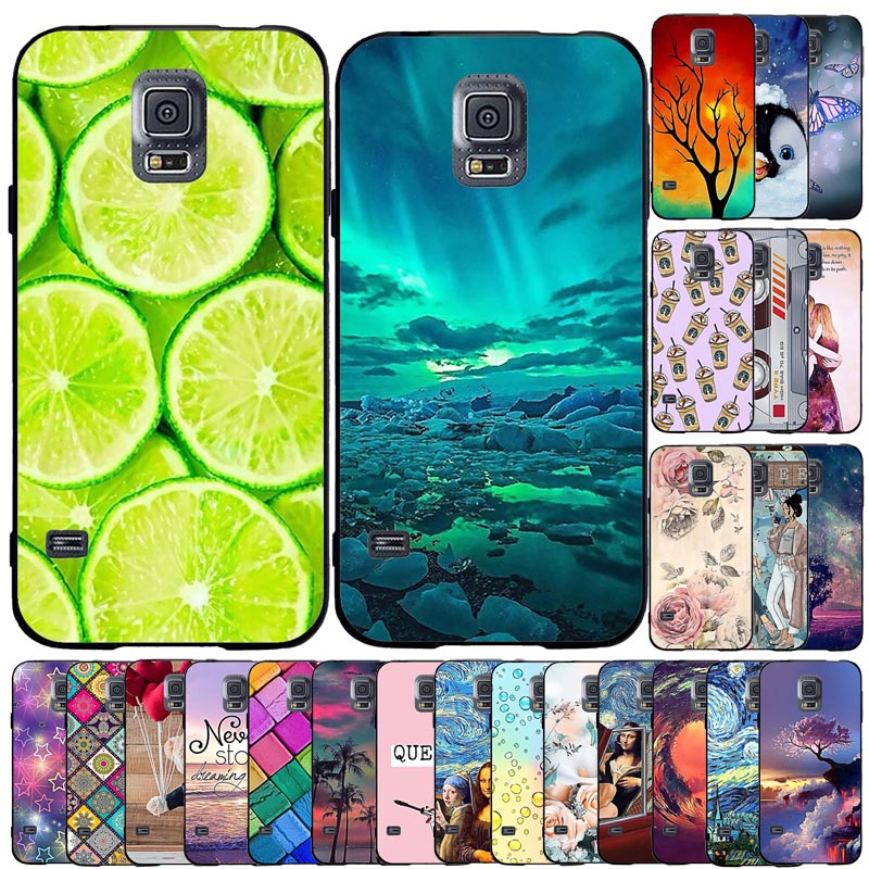 Case For Samsung Galaxy S5 Case Cover Silicone Funda Soft Tpu Back Case For Samsung Galaxy S5 G900f Phone Shell Cover Coque Capa - Buy Phone Case & ...