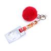 Red grabber+pom ball