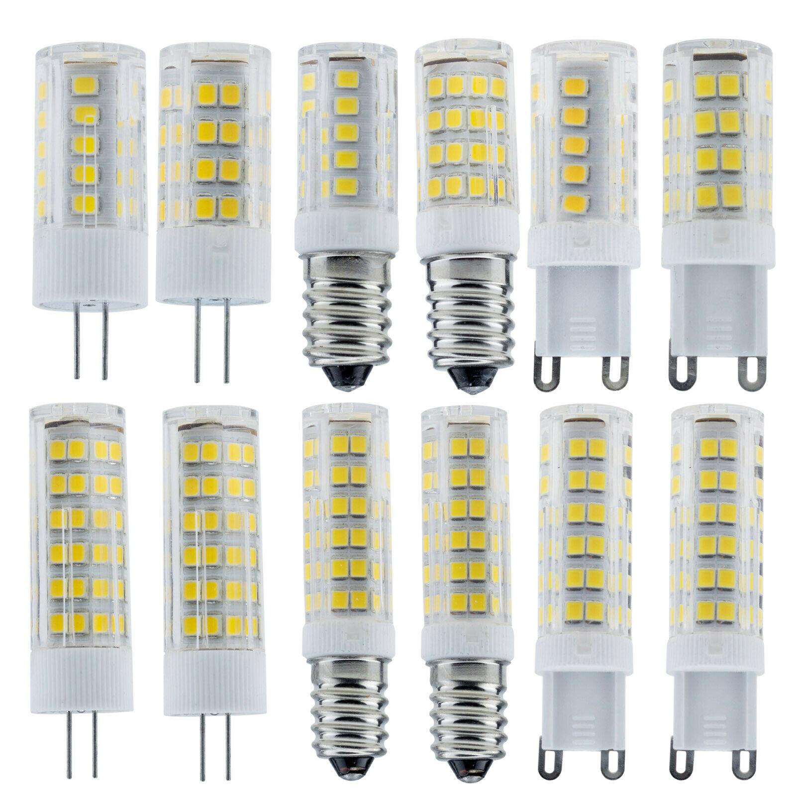 2X LED Corn Bulb G9 High Lumens Lights 2835SMD 220V 3W//5W Wall Mounts Lamps 13E