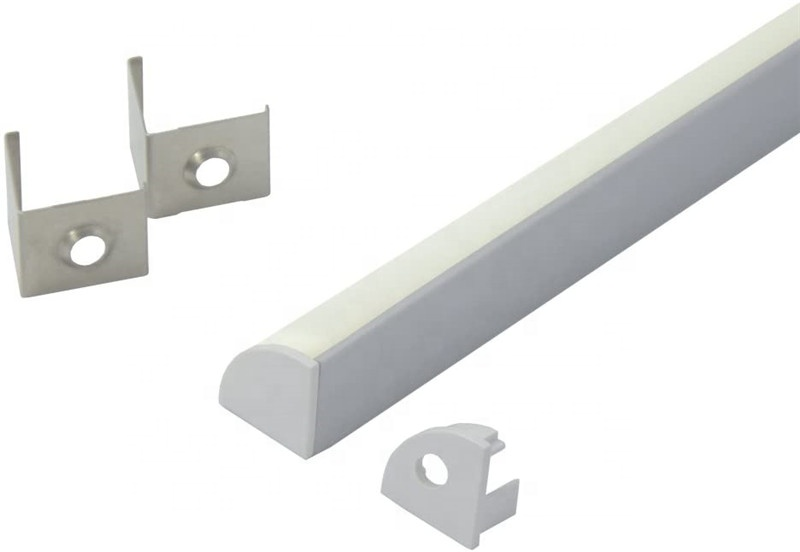 Amazon OEM Facotry LED aluminum profile / LED V Shape Corner Profile aluminum channel strip light Bar Case