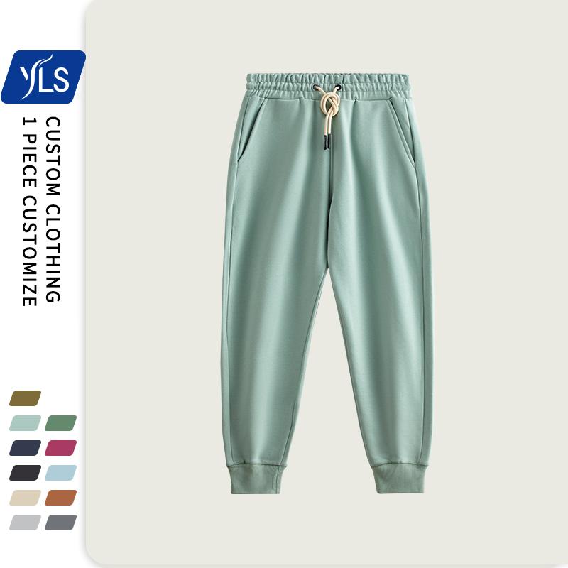 High Quantity Thick 100% Cotton Cargo Sweatpants Men Slim Joggers Thermal Fleece High Quality Custom Warm Men Joggers