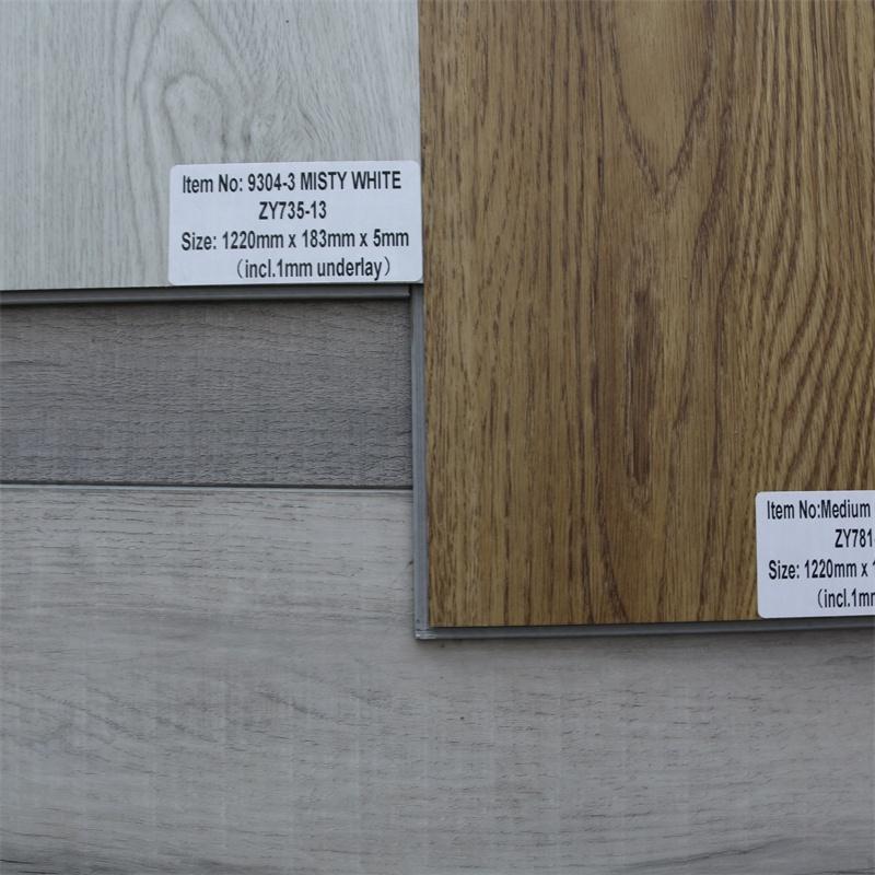 homogeneous pvc flooring  sheet pvc vinyl plastic floor plank