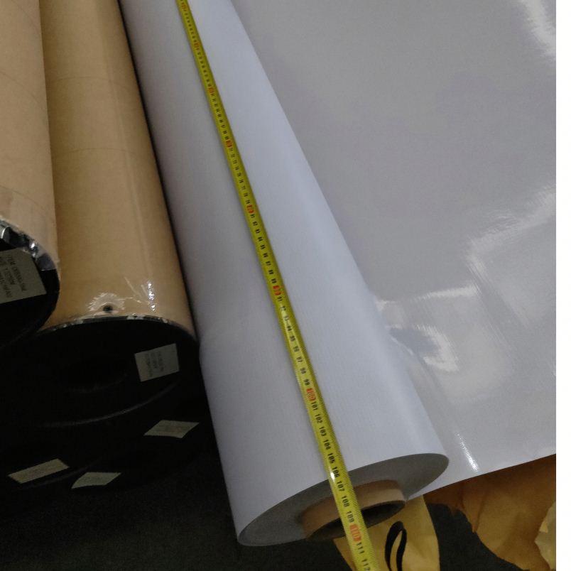PET /PVC Vinyl Sheet Backlit Film For Outdoor Indoor Advertising Banner Light Box
