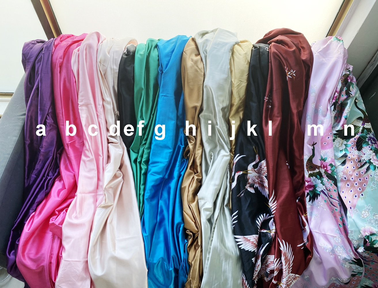 Женские халаты Yoni, паровой халат, зеленый халат, атласный шелковый халат, роскошный халат
