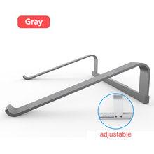 11-17 дюймов подставка для ноутбука из алюминиевого сплава портативный держатель для ноутбука Macbook Air Pro 15 нескользящий кронштейн для охлажден...(Китай)