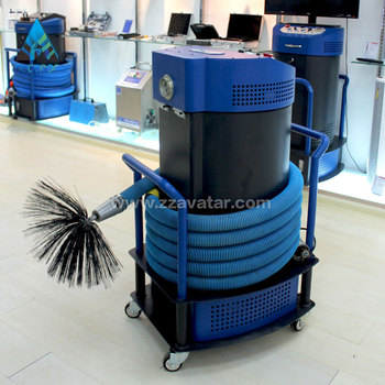 245w air duct cleaning equipment and tools with brush