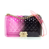 16873-Clear Red +Black