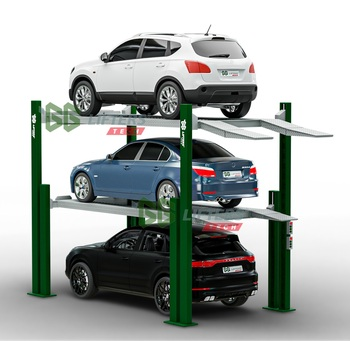 Tower auto parking system Park 3 Level car parking system