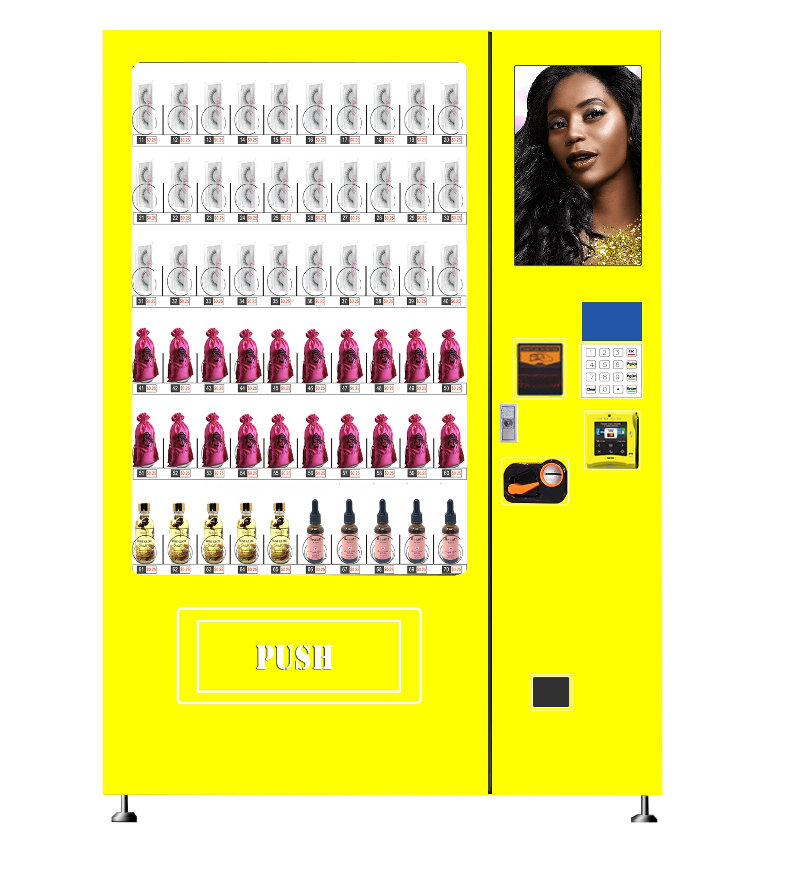 Лидер продаж, торговый автомат для ресниц с бесплатным индивидуальным дизайном