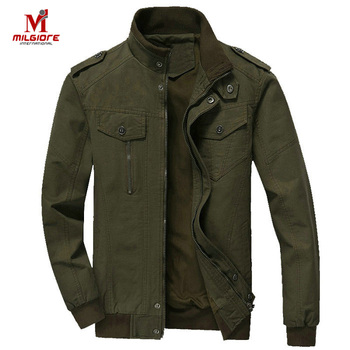 Wholesale Custom Army Jacket Coat Military Green Bomber Jacket And Winter Jacket For Men