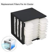 Портативный мини-вентилятор для кондиционера, USB, 7 цветов, светильник, настольный вентилятор для охлаждения воздуха, очиститель воздуха для...(Китай)