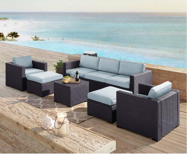 Уличная плетеная мебель для дворика, современная мебель для гостиной