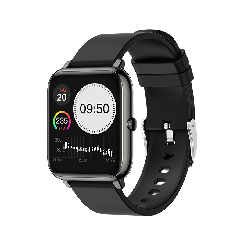 Water Resistant Touch Men Wrist Heart Rate Monitor Smartwatch Fitness Sport Outdoor Lady Fashion Phone Call Smart Watch