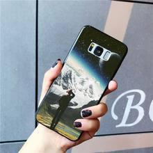 MaiYaCa Great Trippy Art эстетическое пространство Астронавт Луна девушка PhoneCase для samsung Galaxy S10 Plus S10E S6 S7 S8 S9 Plus S10lite(Китай)