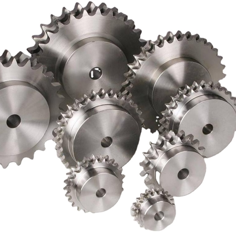 Sprocket Stainless pinion gear set roller custom metric wheel single duplex double drive conveyor Roller Chain wheel Sprockets