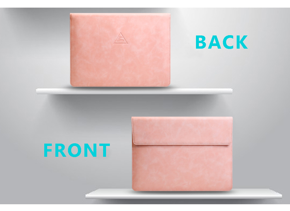 Multi-function PU Leather Waterproof Material Protection Laptop Stand Holder Case Sleeve For 13