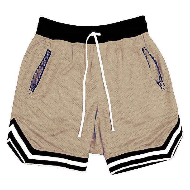 Wholesale Clothing Custom Logo Print Dry-Fit Active Athletic Blank Men's Gym Mesh Summer Basketball Shorts