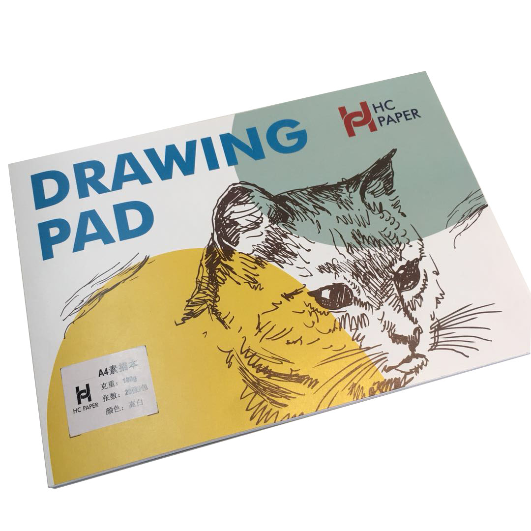 13x19cm Kraft Sketch Book Artist Sketch Pad Dawing Paper Paint Paper Notebook 66sheets/132pages