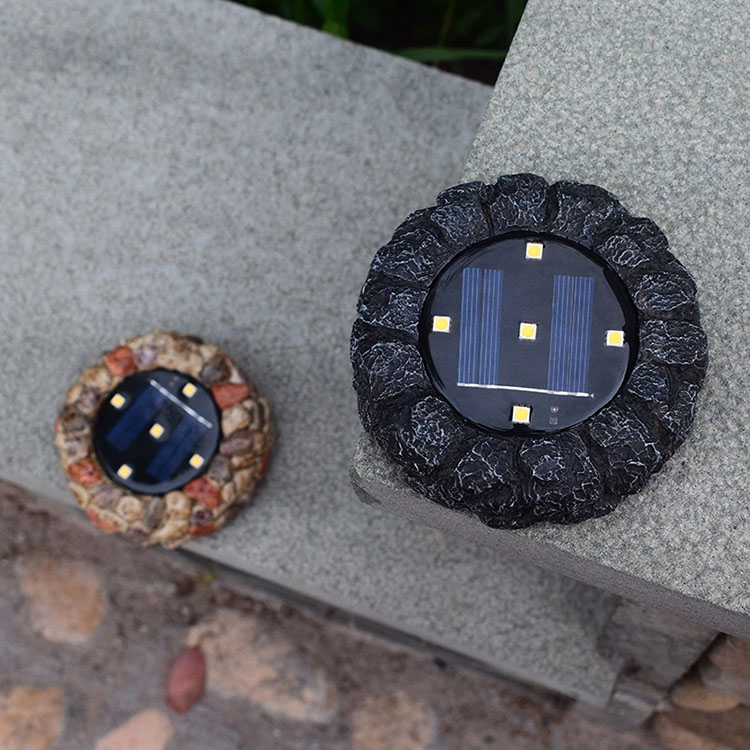 YJN5440 уличная 5 СВЕТОДИОДНАЯ полипропиленовая пластиковая полимерная декоративная Водонепроницаемая Солнечная лампа для газона