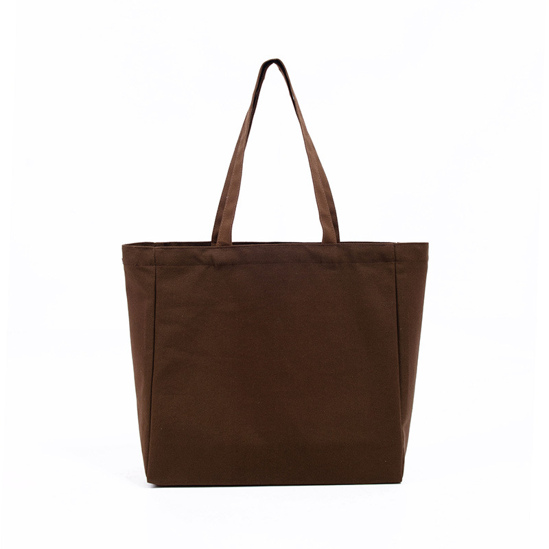 Great shopping factory wholesale customized plain cotton tote canvas bag with custom printed logo and pocket