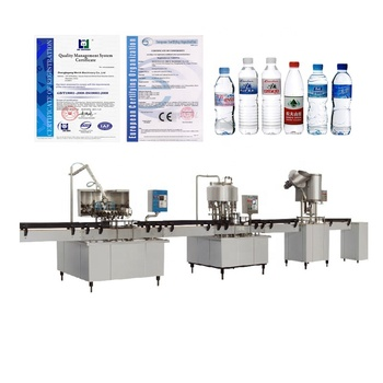 Small Water Bottling Machine Bottled Water Production Line / Bottle Water Making Machine/ Mineral Water Plant