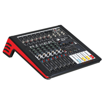 Professional high quality 6 channels dj audio mixer power mixer usb