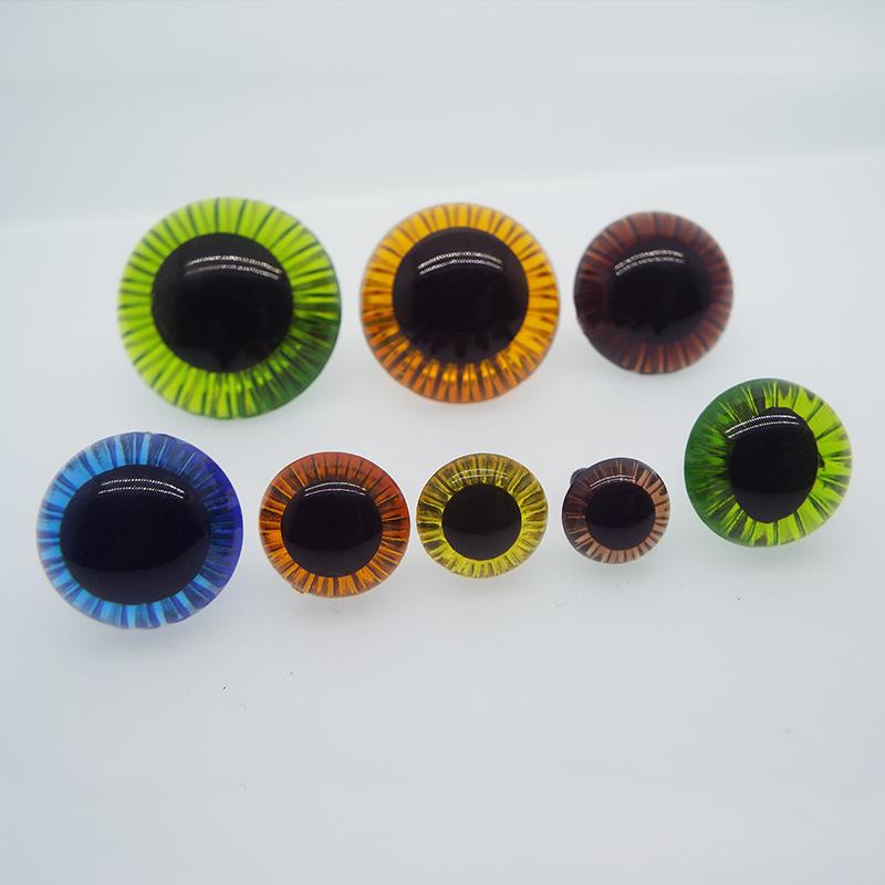 Аксессуары для игрушек 11, 13, 15, 17, 19 мм, лазерный глазный глаз, радиация, кукла, Солнцезащитный глазный шар, пластиковые аксессуары «сделай сам» для глаз