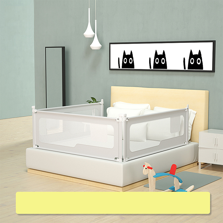 B6 Crib guard rail Child Safety Adjustable Wholesale kid sleeping safety bed guard baby bed side protection