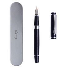 Guoyi A293 Роскошные чернила перьевая ручка 0,5 мм металлический high-end, деловая, для офиса, подарки и фирменным логотипом на заказ цифровым пером(Китай)