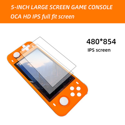 POWKIDDY RGB10 Open Source System RGB10 Max Handheld Game Console RK3326 Chip 3.5-Inch IPS Screen Retro Game Players 3D Rocker