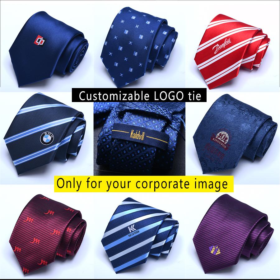 Manufacturer Classic Woven Custom Private Label 8CM Silk Satin Neckties Ties Men