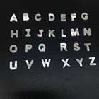 nacar letters wholesale mother of pearl letters shell beads Alphabet bead for DIY jewelry