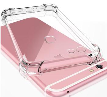 Shockproof Clear Soft Case For IPhone 12 SE2 SE 2020 11 Pro Max X XS XR 8 7 6 6S Plus 7Plus 8Plus TPU Silicon Skin Cover