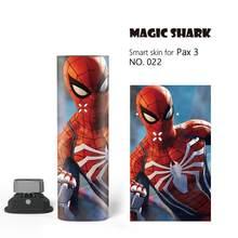 Magic Shark Fighter Dragon Harley Quinn LOL Jinx чехол с изображением Человека-паука пленка наклейка для Pax 3 комплект без выцветания 019-031(Китай)