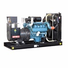 water powered generators with Doosan engine diesel generator power genset 450kva