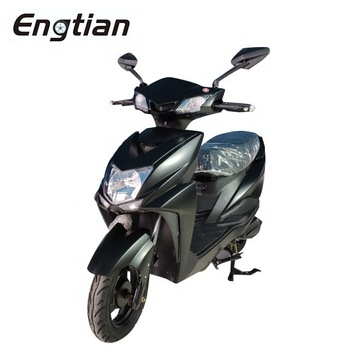 Недорогой высокоскоростной Электрический скутер Engtian 60 в 20 Ач 1000 Вт 1500 Вт 2000 Вт CKD электрический мотоциклетный дисковый тормоз